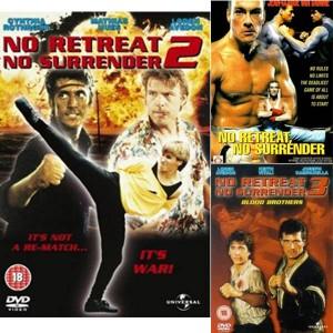 No Retreat No Surrender (1986-1990) (Vietsub) - Không Thể Lùi Bước (Phần 1.2.3)