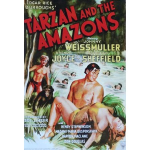 Tarzan And The Amazons (1945) (Thuyết Minh) - Tarzan Khám Phá Amazon